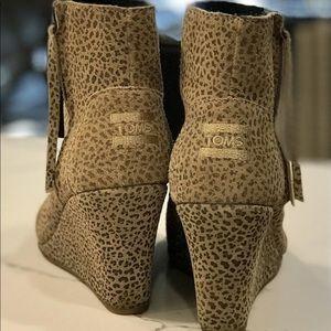 Toms Desert Leopard bootie